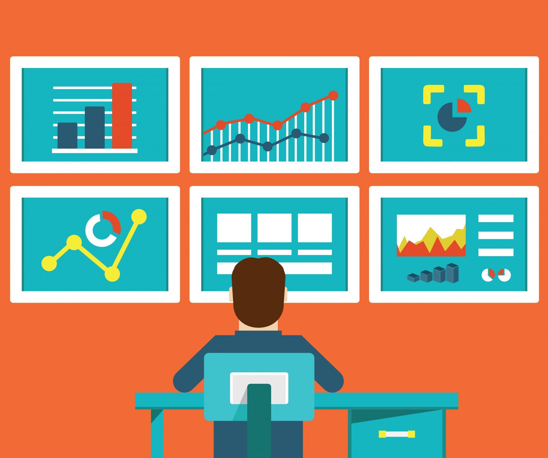 Métricas fornecem uma visão geral da sua estratégia e dos resultados reais que sua empresa está tendo