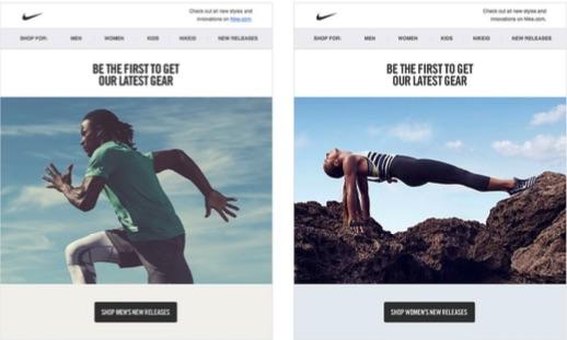 Nike-male-female-website