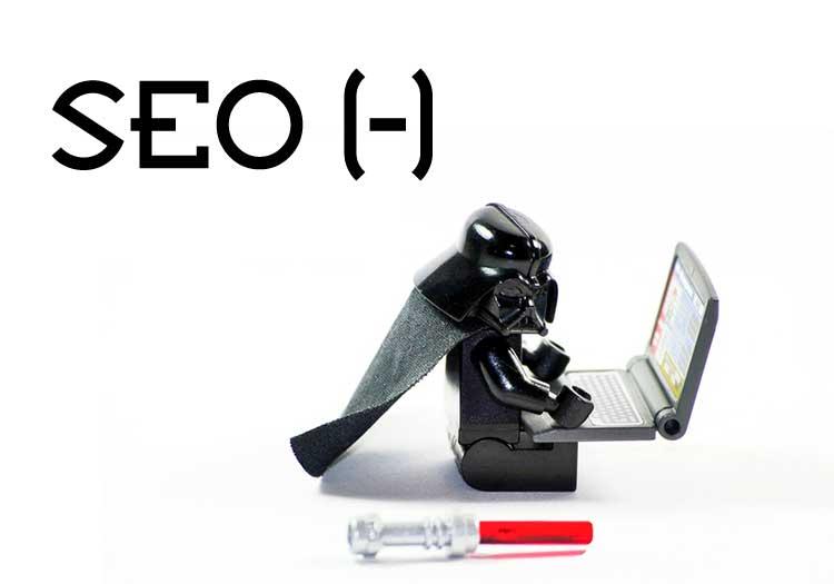 O SEO negativo é feito por meio de um conjunto de ações realizadas com o intuito de prejudicar o posicionamento de um site nos mecanismos de busca como Google, Bing ou Yahoo, por exemplo.